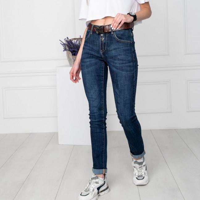 8065 OK&OK джинсы женские синие стрейчевые (6 ед. размеры: 25.26.27.28.29.30) OKOK: артикул 1123520