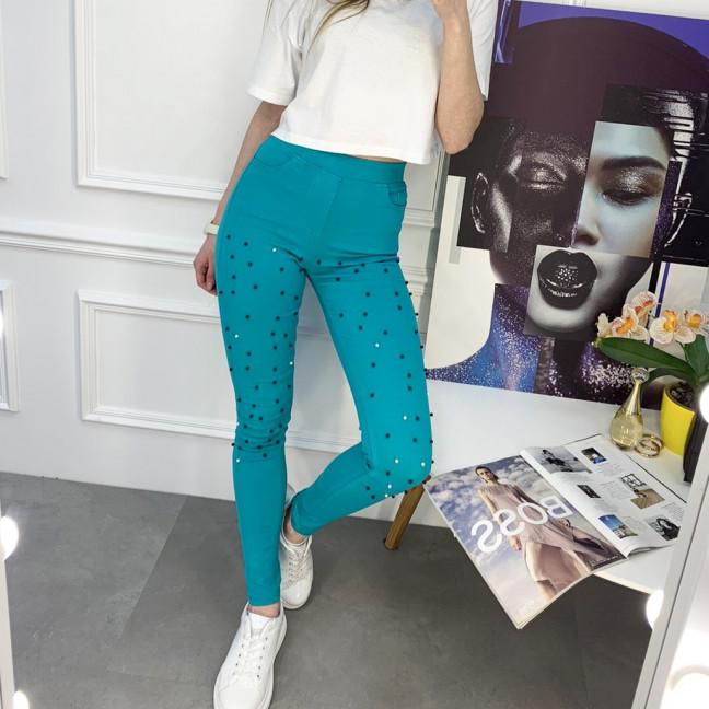 8056-13 Yimeite цветные брюки женские стрейчевые (6 ед. размеры: 25/2.26.27.28.29) Yimeite: артикул 1120751