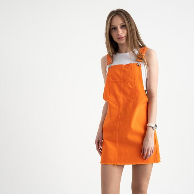 2855 Xray сарафан джинсовый оранжевый котоновый ( 6 ед. размеры: 34/2.36/2.38.40) XRAY: артикул 1122029