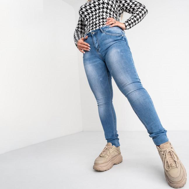 8352 Vanver джинсы женские полубатальные голубые стрейчевые (6 ед. размеры: 28.29.30.31.32.33) Vanver: артикул 1118378