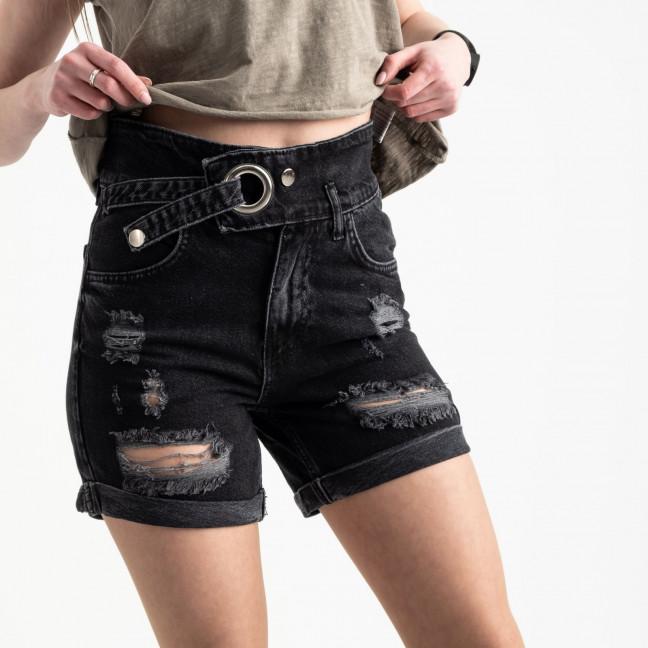 5062 Zeo Basic шорты черные женские котоновые (6 ед. размеры: 34.36/2.38/2.40) Zeo Basic: артикул 1120154