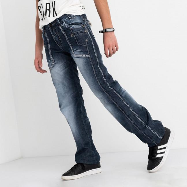 3202-3 Vigoocc джинсы на мальчика голубые котоновые (7 ед. размеры: 24.25.26.27.28.29.30) Vigoocc: артикул 1113848