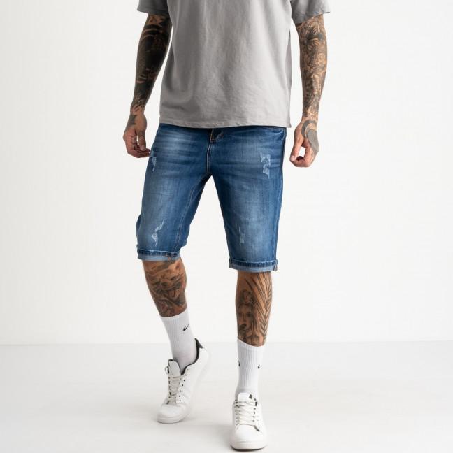 2203 Dsouaviet джинсовые шорты мужские голубые стрейчевые ( 8 ед. размеры: 29.30.31.32.33.34.36.38)  Dsouaviet: артикул 1121331