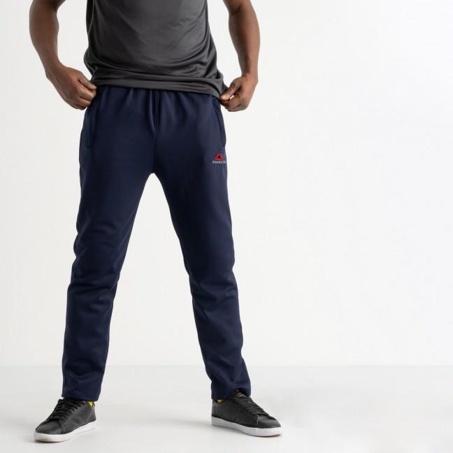 16405-2 синие батальные спортивные брюки из двунитки (4 ед. размеры: 56.58.60.62) Спортивные штаны: артикул 1120300