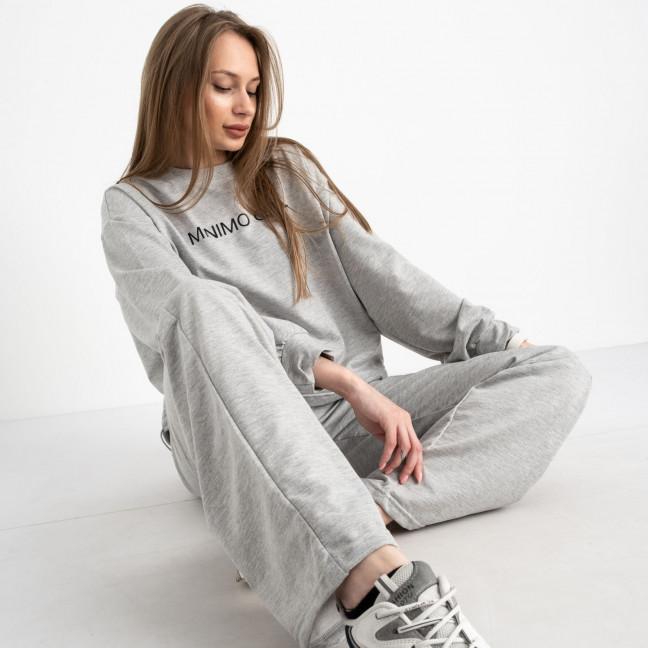 7807-3 M&C спортивный костюм женский серый (3 ед. размеры: универсал S-L ) M&C: артикул 1122651
