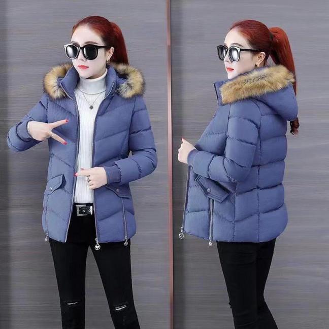 6936-2 куртка голубая женская на синтепоне (6 ед. размеры: M.L.2XL/2.3XL.4XL) Куртка: артикул 1125585