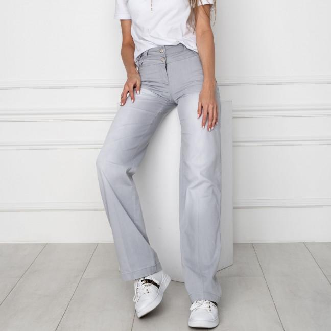 0809-K брюки женские серые стрейчевые (6 ед. размеры: 25.26.27.28.29.30) Брюки: артикул 1123501