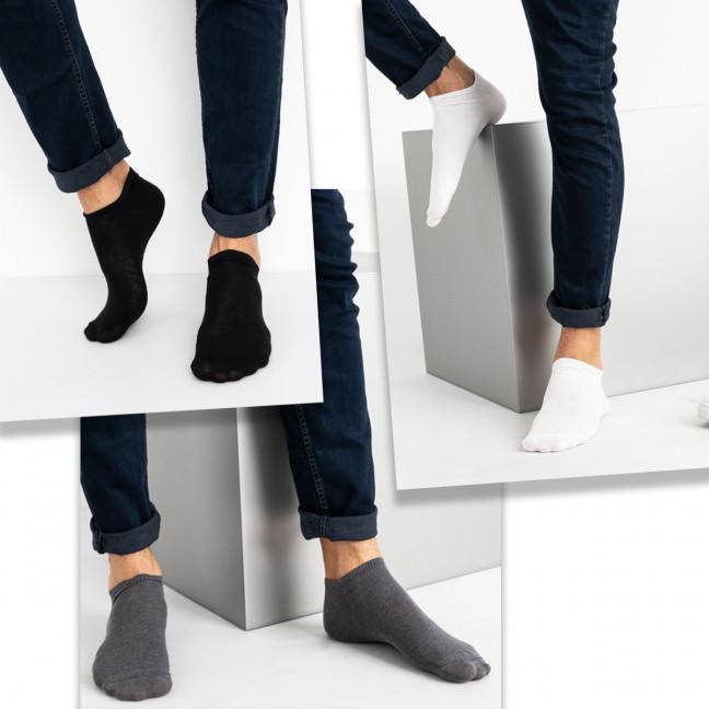 1111 носки мужские укороченные(60 ед. размеры:.универсал 40-45) Носки: артикул 1120184