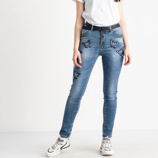 1099 Lady N джинсы женские голубые стрейчевые ( 6 ед. размеры: 27.28.29.30.31.32) Lady N: артикул 1121923