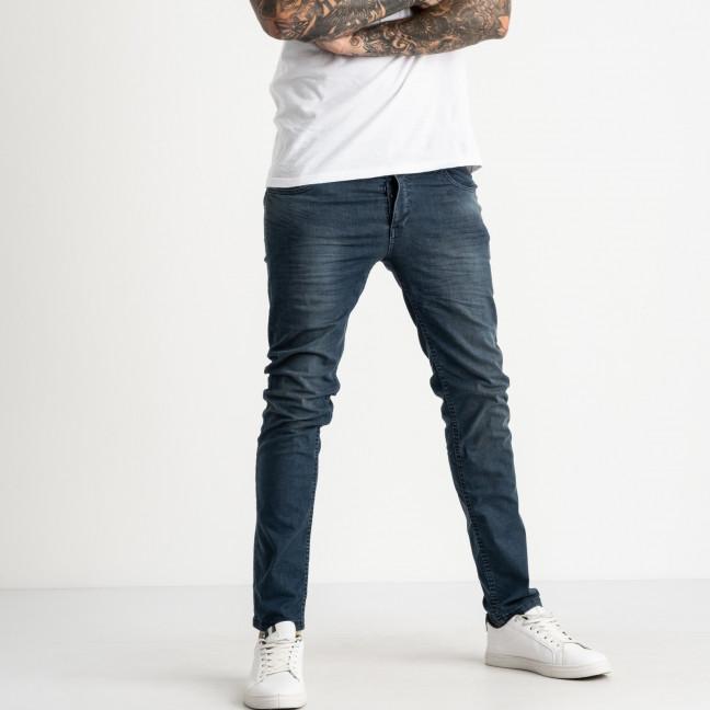 0911 Jack Kevin джинсы синие полубатальные мужские стрейчевые ( 8 ед. размеры: 32.33.34/2.36/2.38.40) Jack Kevin: артикул 1121921