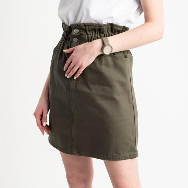 0200-7 Defile хаки юбка на пуговицах котоновая (6 ед. размеры: 34.36.38.38.38.40) Defile: артикул 1119533