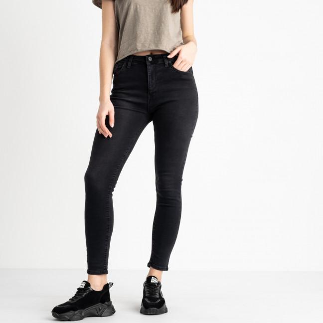 0647 Miss Aura джинсы полубатальные черные стрейчевые (8 ед. размеры: 31.32.33.33.34.34.36.38) Miss Aura: артикул 1118915