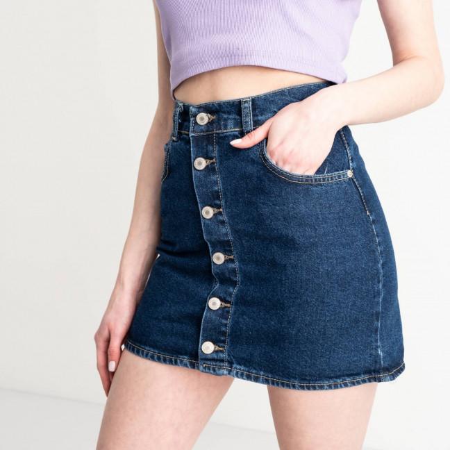 2982 XRay юбка джинсовая на пуговицах синяя котоновая (6 ед. размеры: 34.34.36.36.38.40) XRAY: артикул 1118970