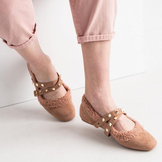 0155 Girnaive розовые балетки замшевые (6 ед. размеры: 36.37.38.39.40.41) Girnaive: артикул 1119323