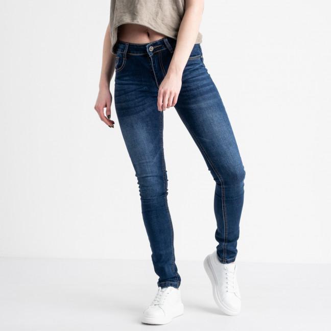 0605 Fashion jeans джинсы женские синие стрейчевые (6 ед. размеры: 25.26.27.28.29.30) Fashion jeans: артикул 1118837
