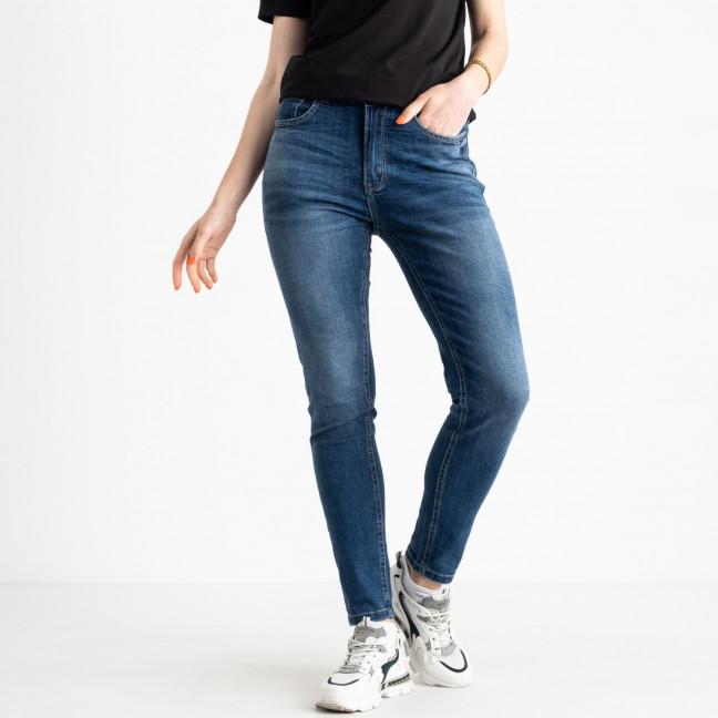 0549-8 AF Relucky джинсы полубатальные женские синие стрейчевые (6 ед. размеры: 28.29.30.31.32.33) Relucky: артикул 1120690