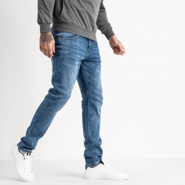 0618 Reigouse джинсы мужские синие стрейчевые (6 ед. размеры: 31.32.33.34.36.38) REIGOUSE: артикул 1118639