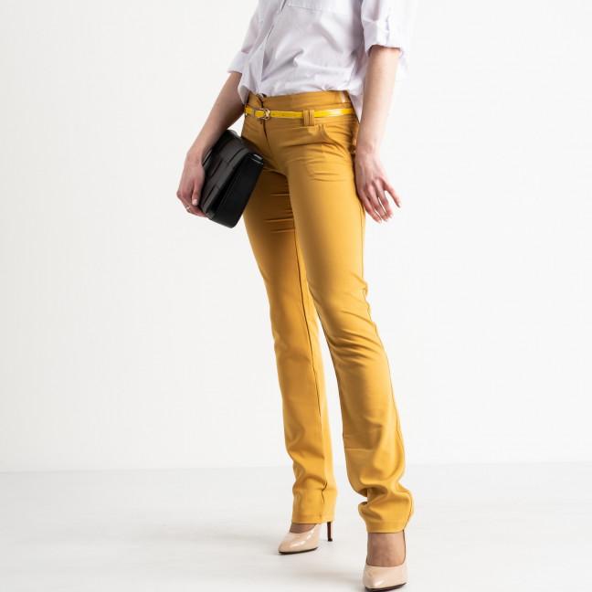 0021-104 Larex брюки женские желтые котоновые (4 ед. размеры: 36.38.40.42) Larex: артикул 1119006