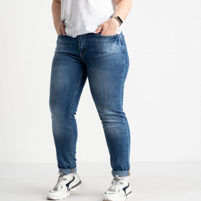 0543-8 A Relucky джинсы батальные синие стрейчевые (6 ед. размеры:.31.32.33.34.36.38) Relucky: артикул 1120179
