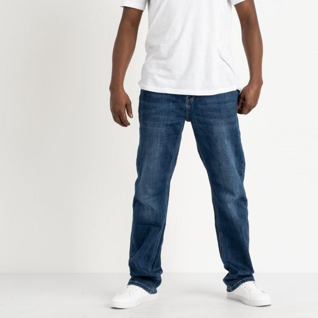 0622 Reigouse джинсы полубатальные мужские синие стрейчевые (6 ед. размеры: 34.36.37.38.40.42) REIGOUSE: артикул 1118638