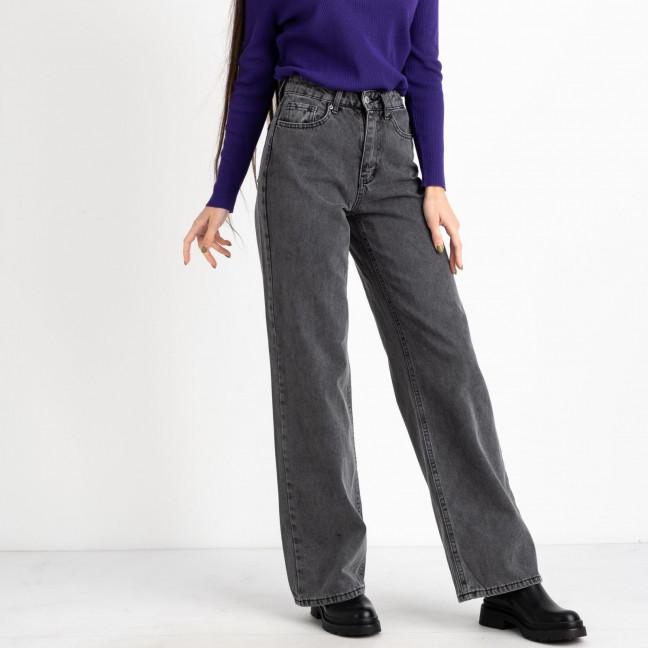6762 джинсы-трубы серые котоновые (8 ед. размеры: 25.26/2.28/2.30/2.32) Джинсы: артикул 1125471