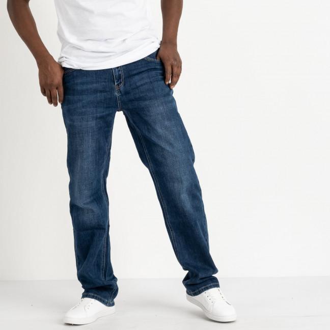 0601 Reigouse джинсы полубатальные мужские синие стрейчевые (6 ед. размеры: 32.34.36.38.40.42) REIGOUSE: артикул 1118637