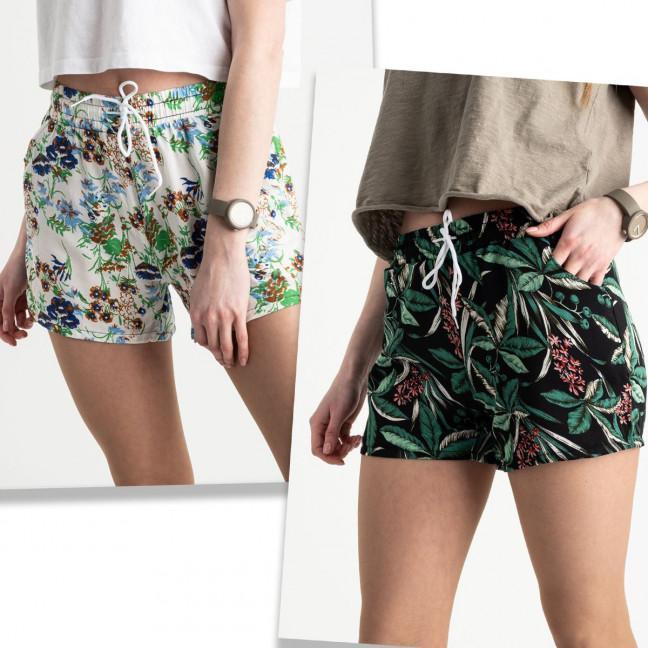 1539 Callin шорты женские цветные микс 2-х моделей (12 ед. размеры: M/3.L/3.XL/3.2XL/3) Callin: артикул 1120438