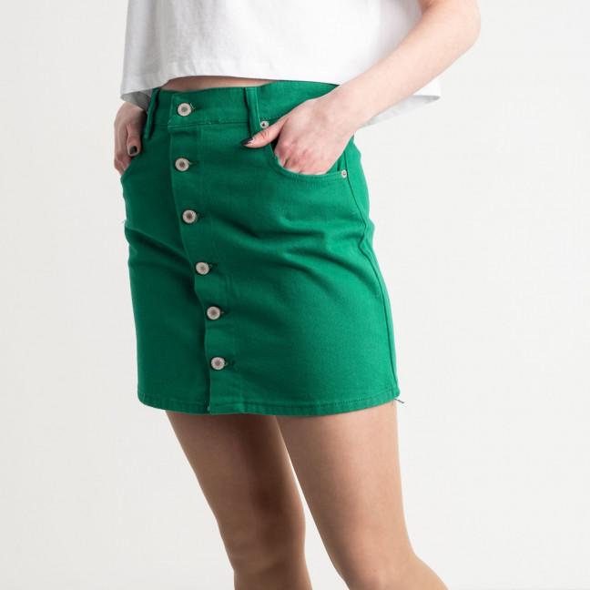 2834 XRay юбка на пуговицах зеленая котоновая (6 ед. размеры: 34.34.36.36.38.40) XRAY: артикул 1118959