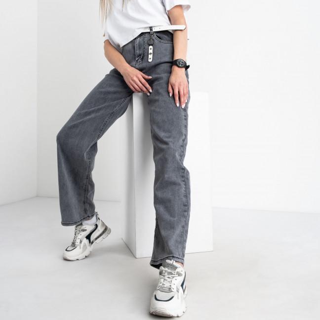 3089 KT.Moss джинсы-трубы серые стрейчевые (6 ед. размеры: 25.26.27.28.29.30) KT.Moss: артикул 1123429