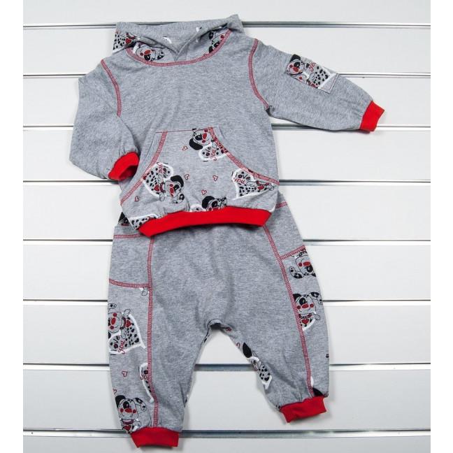0707 костюм детский на мальчика 1-2 года (3 ед. размеры: 80.86.92) Маленьке сонечко: артикул 1122111