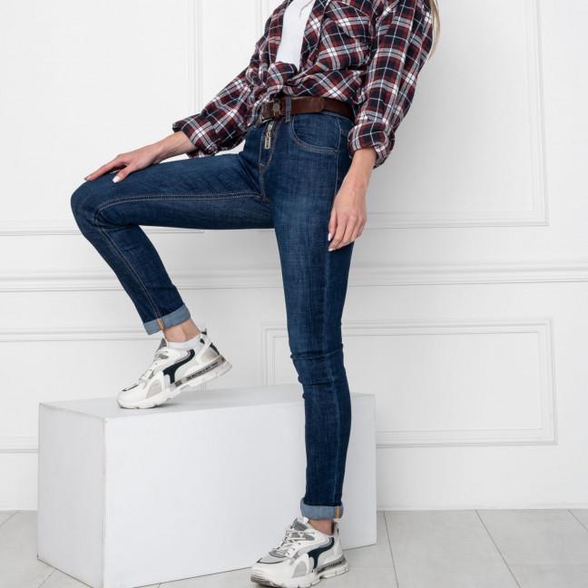 8060 OK&OK джинсы женские синие стрейчевые (6 ед. размеры: 25.26.27.28.29.30) OKOK: артикул 1123517