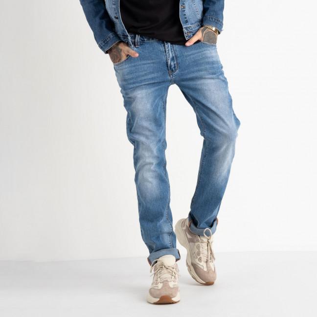 2078 Fang джинсы голубые стрейчевые (8 ед. размеры: 30.31.32.33.34.35.36.38) Fang: артикул 1118352