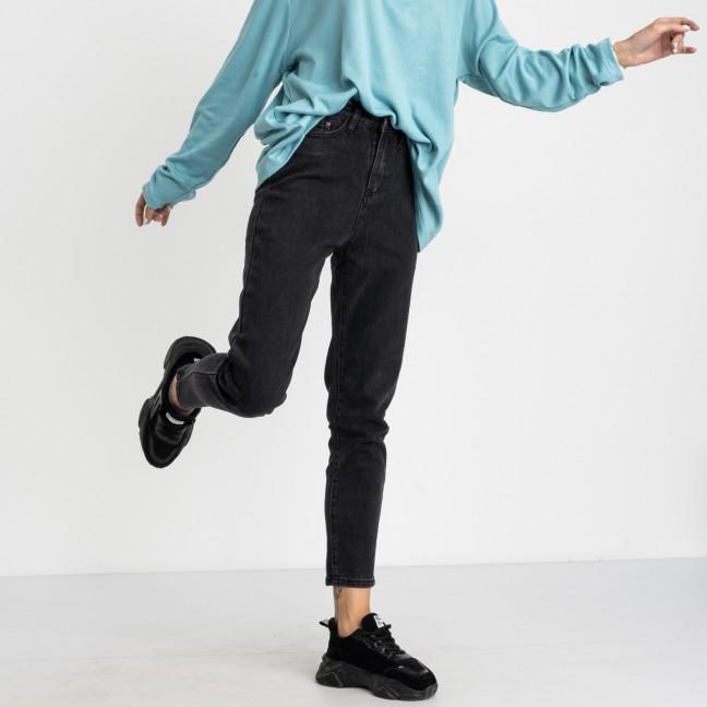 5017 New Jeans мом женский серый стрейчевый (6 ед. размеры: 25.26.27.28.29.30) New Jeans: артикул 1123627