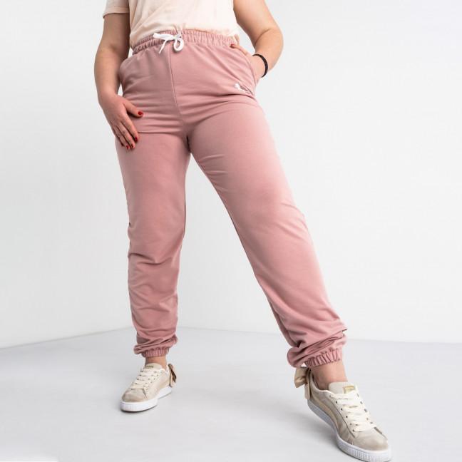 14870-2  Mishely пудра брюки женские спортивные батальные стрейчевые (4 ед. размеры: 50.52.54.56) Mishely: артикул 1117771