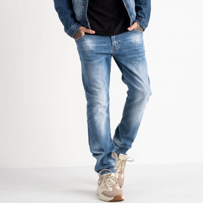 2077 Fang джинсы голубые стрейчевые (8 ед. размеры: 30.31.32.33.34.35.36.38) Fang: артикул 1118349
