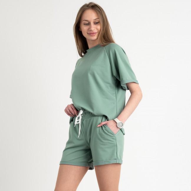 1445-11 Mishely полынь женский спортивный костюм с шортами (4 ед. размеры: S.M.L.XL) Mishely: артикул 1122835