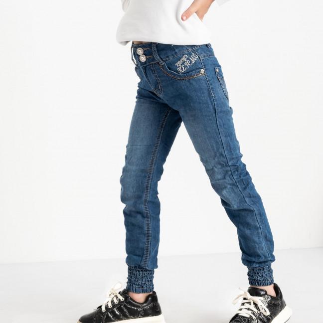 1909 Du Jin джинсы синие на девочку 6-11 лет котоновые(6 ед. размеры: 20.22.24.26.28.30) Du Jin: артикул 1120268