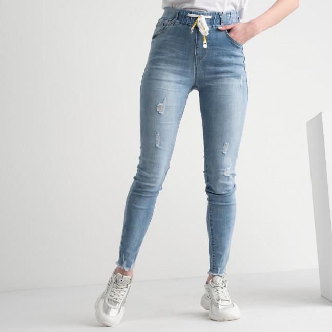 0630 New Jeans джинсы голубые стрейчевые на резинке (6 ед. размеры: 25.26.27.28.29.30) New Jeans: артикул 1117681