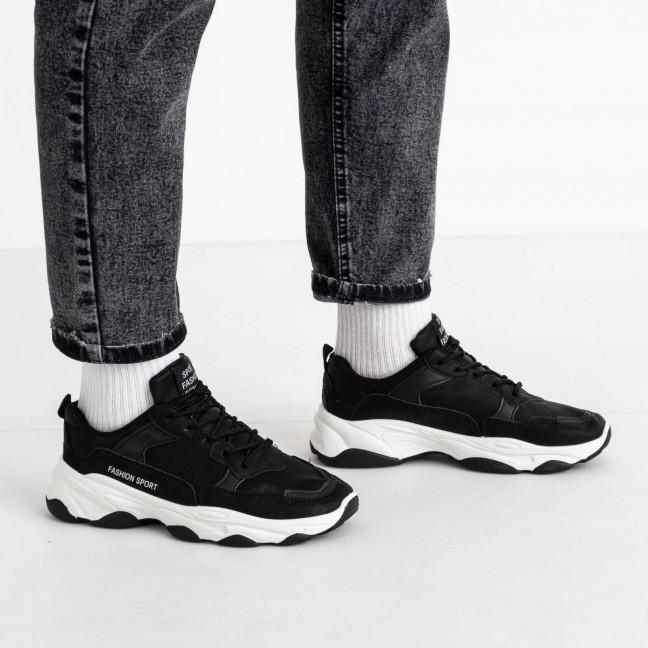 071120-22 черные кроссовки мужские (10 ед. размеры: 39.40.40.41.41.42.42.43.43.44) Кроссовки: артикул 1119490