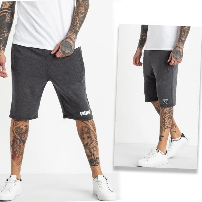 1107-66 спортивные шорты мужские микс 2-х моделей (5 ед. размеры: 46.48.50.52.54) Шорты: артикул 1120425