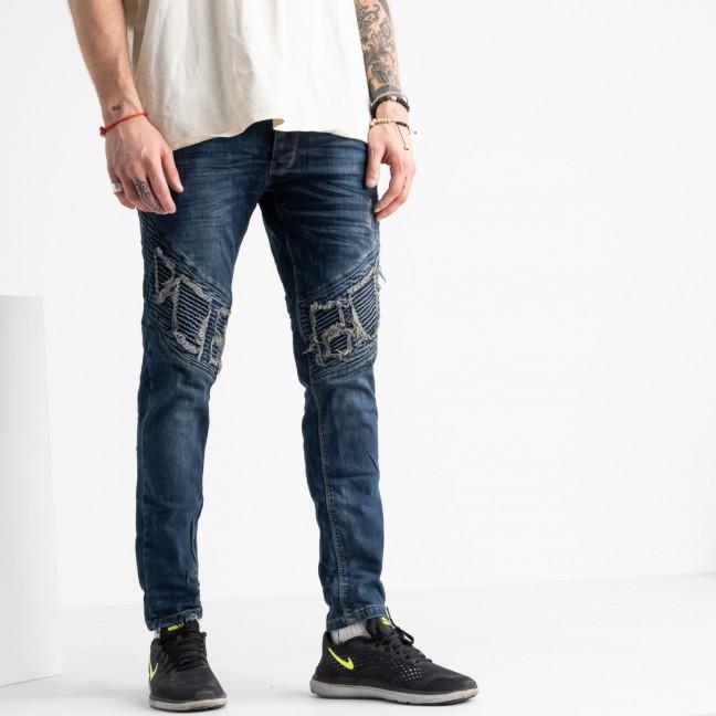 2423 Quartz джинсы мужские синие стрейчевые (8 ед. размеры: 29.30.31.32.32.33.34.36) Quartz: артикул 1117938