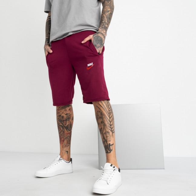 1101-34 бордо спортивные шорты мужские (4 ед. размеры: 46.48.50.52) Шорты: артикул 1120256-1