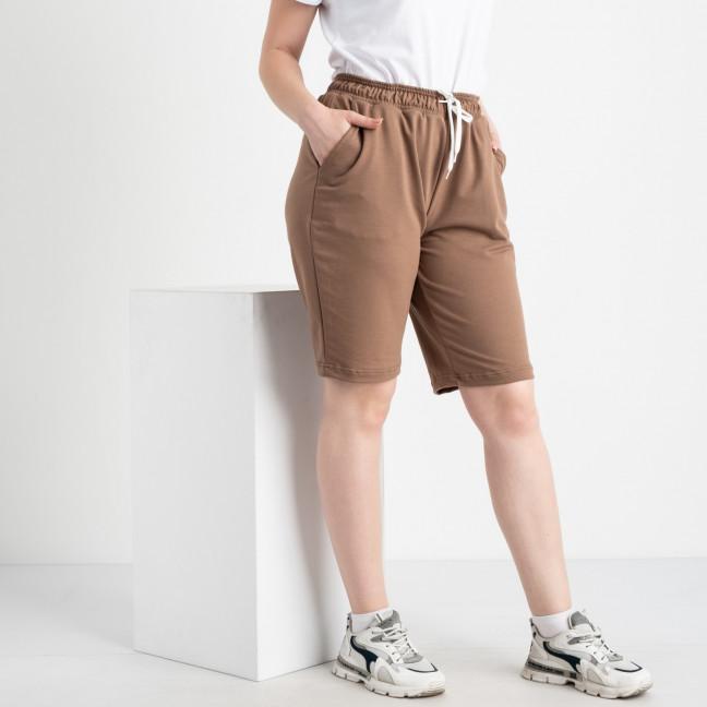2230-9 Mishely шорты мокко женские батальные из двунитки ( 4 ед. размеры: 50.52.54.56) Mishely: артикул 1122689