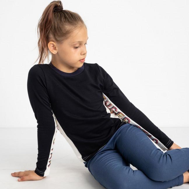 1005 А  кофта темно-синяя на девочку 6-8 лет (3 ед. размеры: 116.122.128) Маленьке сонечко: артикул 1121517