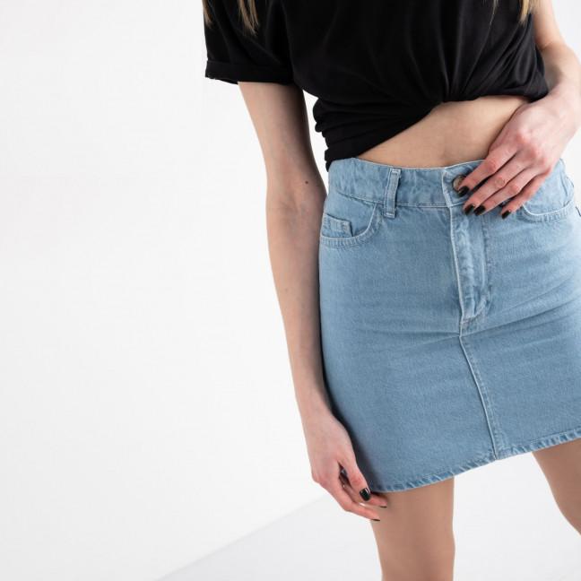 0032-126  Arox юбка джинсовая голубая котоновая (6 ед. размеры: 34.36.38.38.40.42) Arox: артикул 1118559