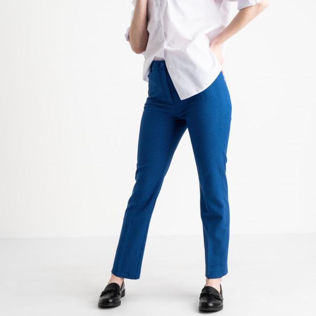 0199-304 Larex брюки женские синие котоновые (4 ед. размеры: 36.38.40.42) Larex: артикул 1118998