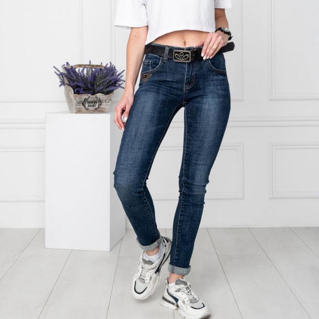 5016 OK&OK джинсы женские синие стрейчевые (6 ед. размеры: 25.26.27.28.29.30) OKOK: артикул 1123518