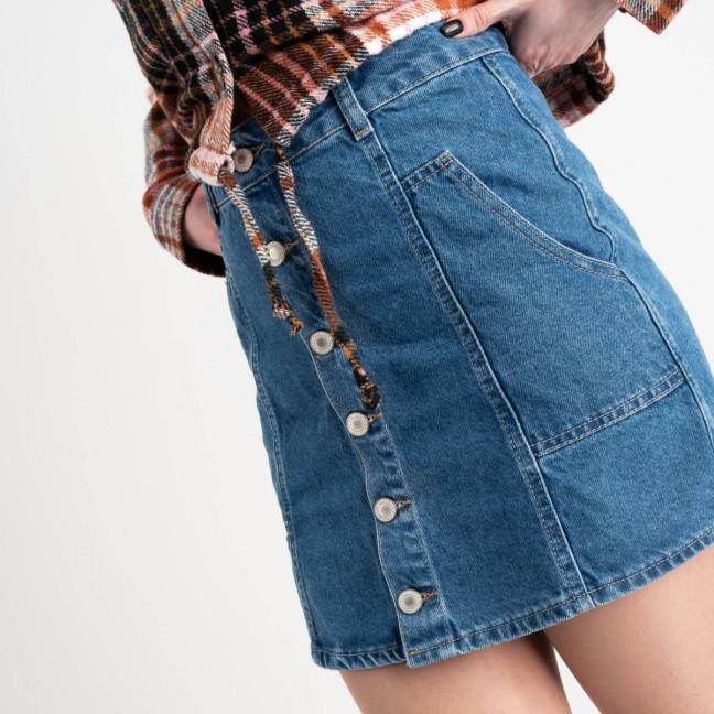 2390 Xray юбка джинсовая синяя котоновая (6 ед. размеры: 34.36.38.38.40.42) XRAY: артикул 1118542