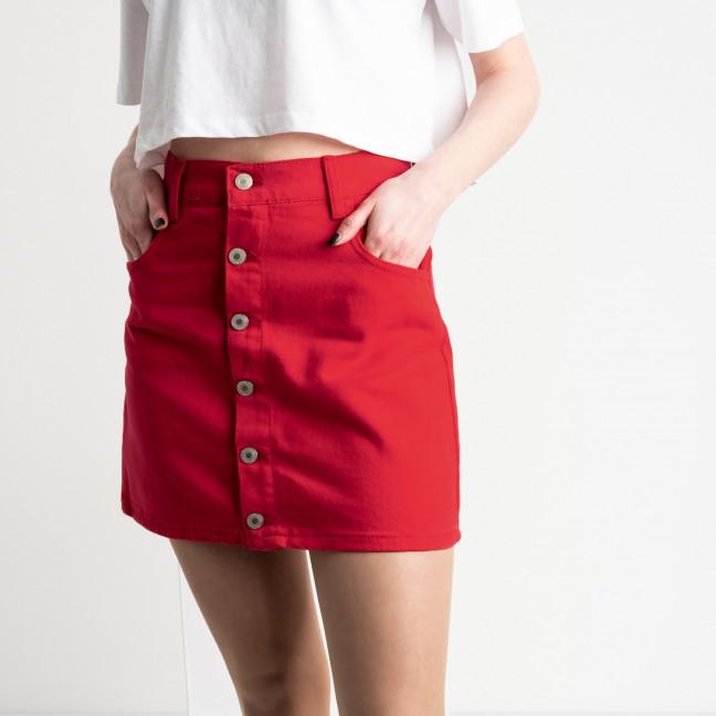 2952 Arox юбка на пуговицах красная котоновая (6 ед. размеры: 34.34.36.36.38.40) Arox: артикул 1118953