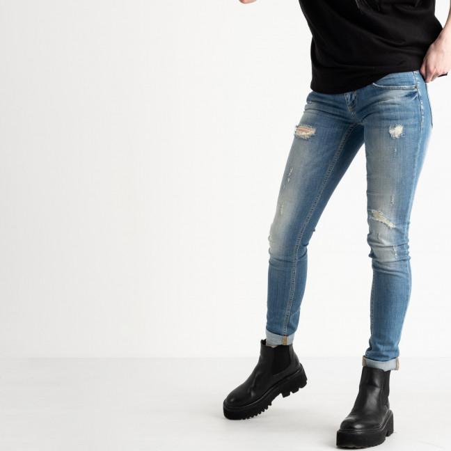 9364-581-01 Colibri джинсы женские голубые стрейчевые (5 ед. размеры: 26.27.28.29.30) Colibri: артикул 1118805